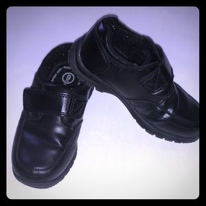 Toddler Boy Black Dress Shoes.
